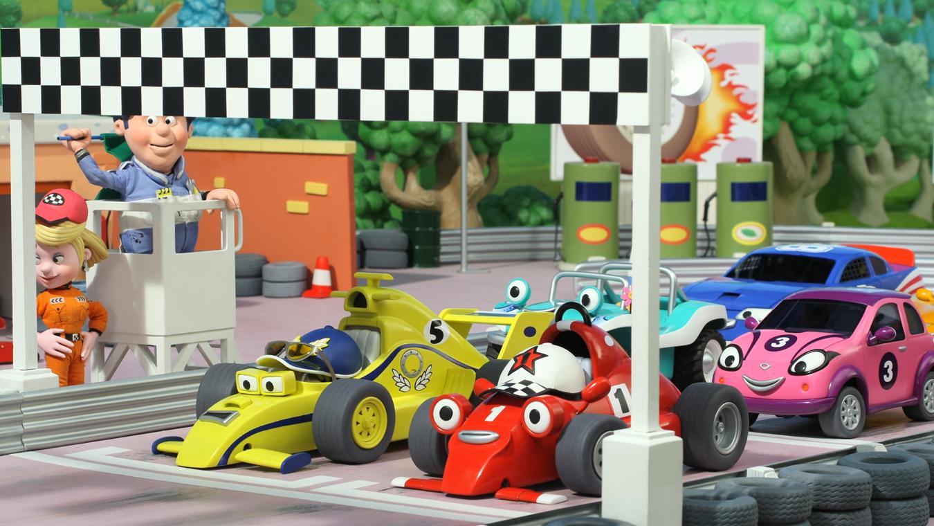 Amazoncom: Roary the Racing Car