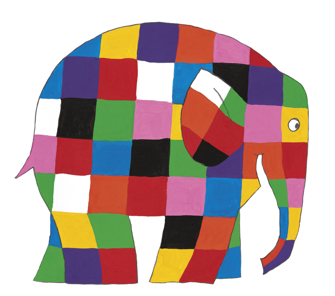 Factory to animate David McKee's Elmer the Patchwork Elephant